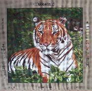 Gobelin needlepoint canvas 46.380 Tiger / Tigre
